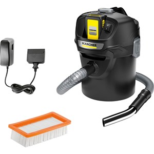 AD 2 Battery Set Cordless Ash Extractor