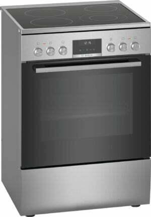 Bosch Series 6 komfur HKS59E150U (sølv)