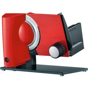Graef MultiCut Plus Pålægsmaskine, rød