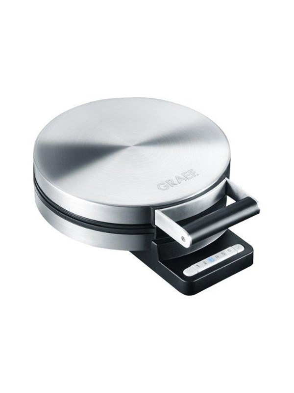 Graef Vaffeljern WA 80 - waffle maker - matt stainless steel