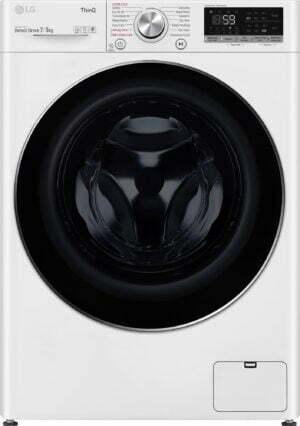 LG kombineret vaskemaskine/tørretumbler F2DV707S2WS