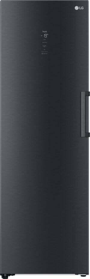 LG opretstående fryser GFM61MCCSF (matte black)