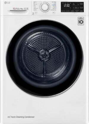 LG tørretumbler FDRC308N2W9 (hvid)