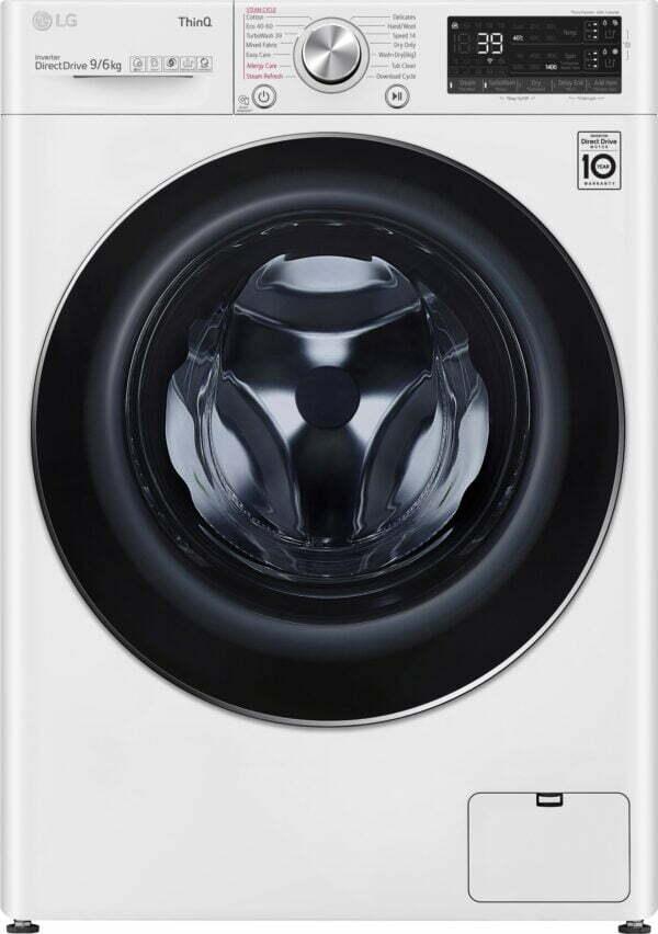 LG vaskemaskine/tørretumbler CV90V7S2QA