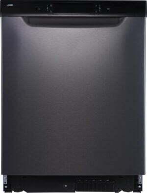 Logik opvaskemaskine LDW60T20N (stål)