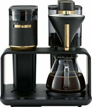 Melitta EPOS kaffemaskine MEL22212 (sort/guld)