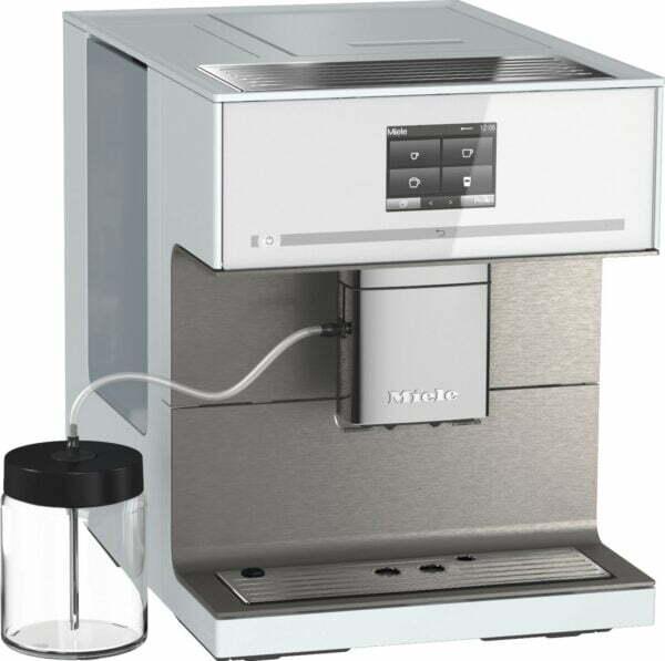 Miele CM 7 CoffeePassion espressomaskine CM7550WH (brilliant white)