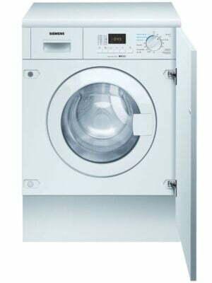 Siemens iQ300 vaskemaskine/tørretumbler WK14D322DN intergreret model