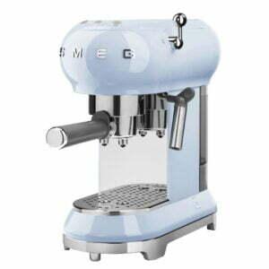 Smeg 50 s style espressomaskine ECF01 - blå