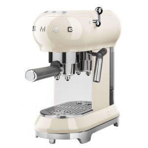 Smeg 50 s style espressomaskine ECF01 - creme