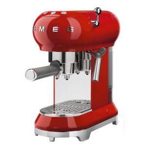 Smeg 50 s style espressomaskine ECF01 - rød