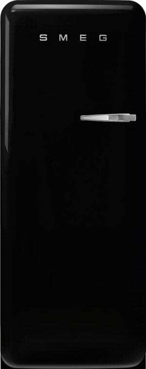 Smeg 50 s style køleskab med fryser FAB28LBL5 (sort)