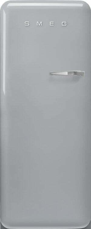 Smeg 50 s style køleskab med fryser FAB28LSV5 (sølv)