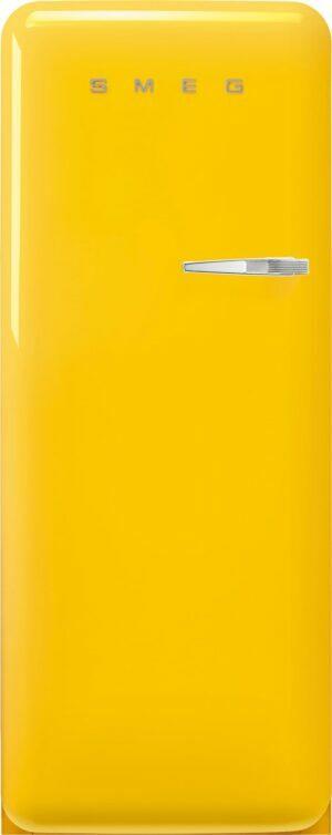 Smeg 50 s style køleskab med fryser FAB28LYW5 (gul)