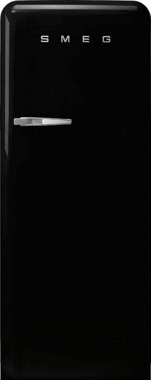 Smeg 50 s style køleskab med fryser FAB28RBL5 (sort)