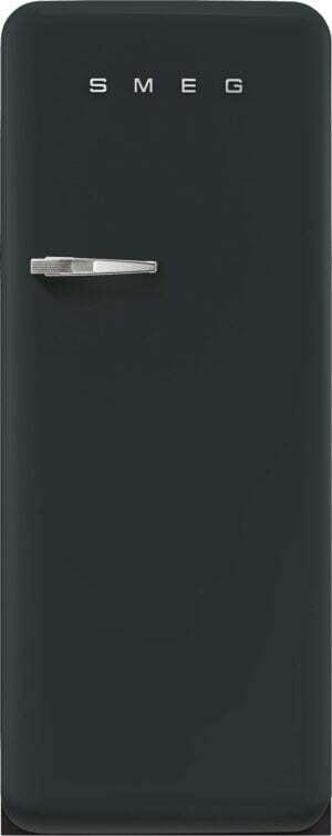Smeg 50 s style køleskab med fryser FAB28RDBLV5 (black velvet)