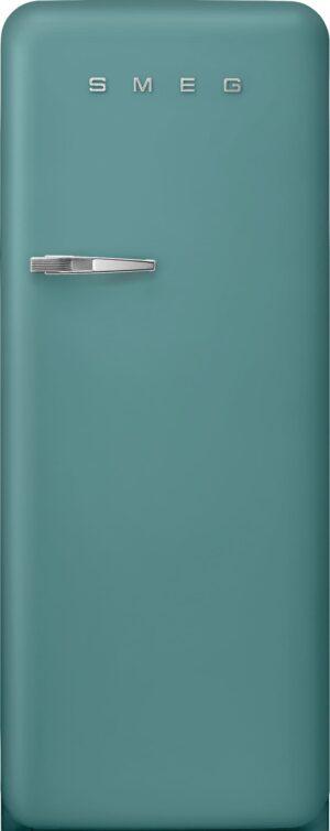 Smeg 50 s style køleskab med fryser FAB28RDEG5 (emerald green)