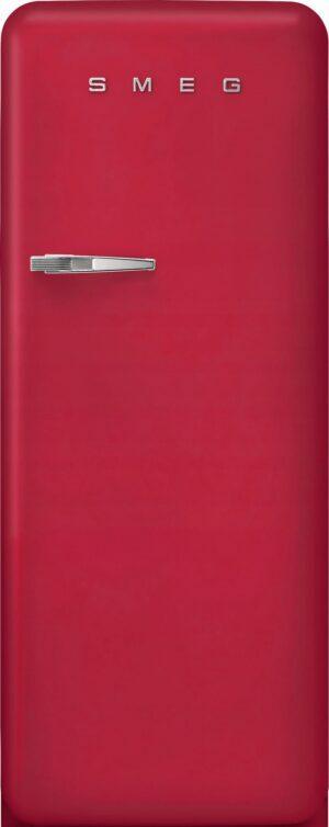 Smeg 50 s style køleskab med fryser FAB28RDRB5 (ruby red)