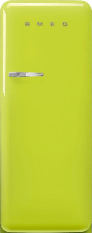Smeg 50 s style køleskab med fryser FAB28RLI5 (lime)