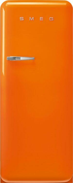Smeg 50 s style køleskab med fryser FAB28ROR5 (orange)
