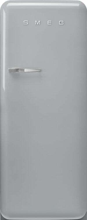 Smeg 50 s style køleskab med fryser FAB28RSV5 (sølv)