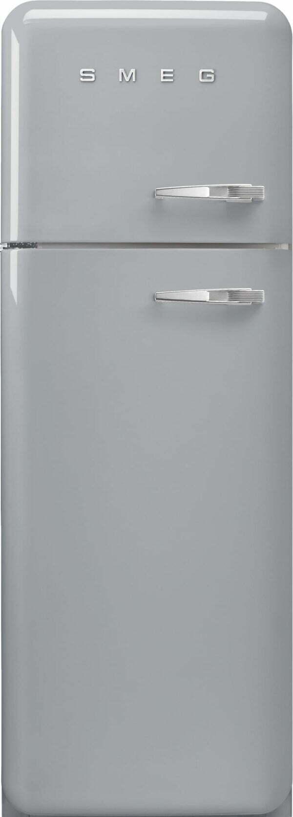Smeg 50's Style kølefryseskab FAB30LSV5 (sølv)