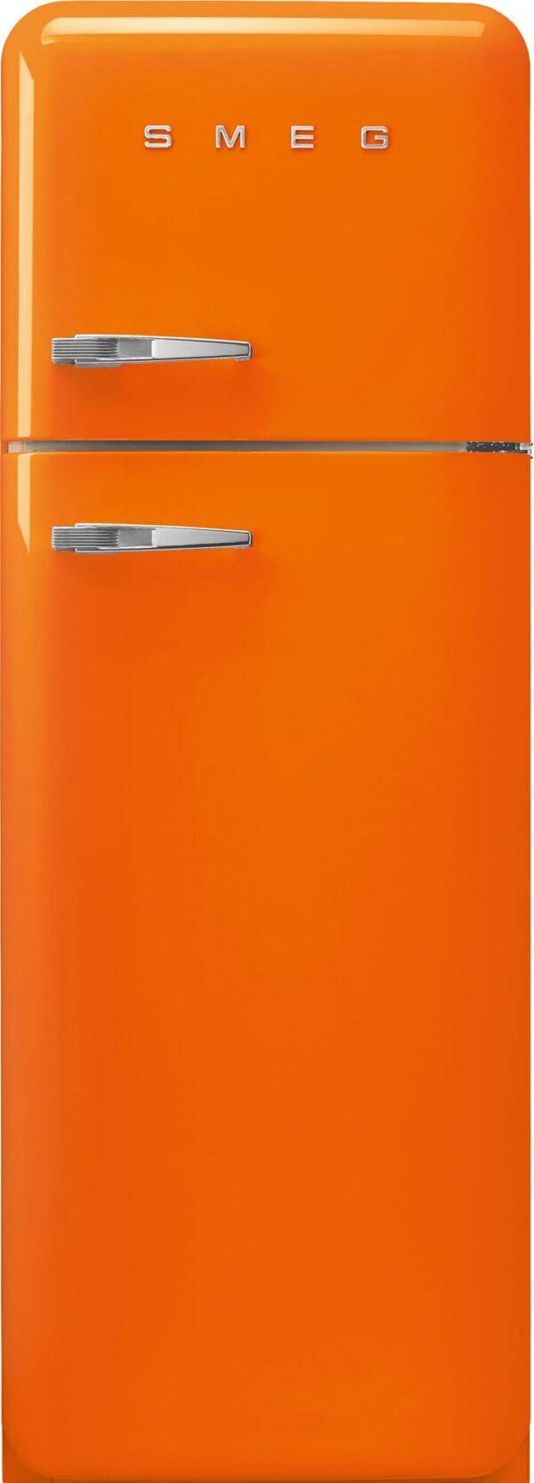 Smeg 50's Style kølefryseskab FAB30ROR5 (orange)