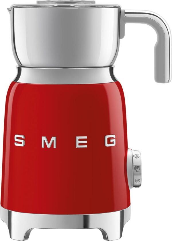 Smeg Retro 50 s Style mælkeskummer MFF01RDEU (rød)