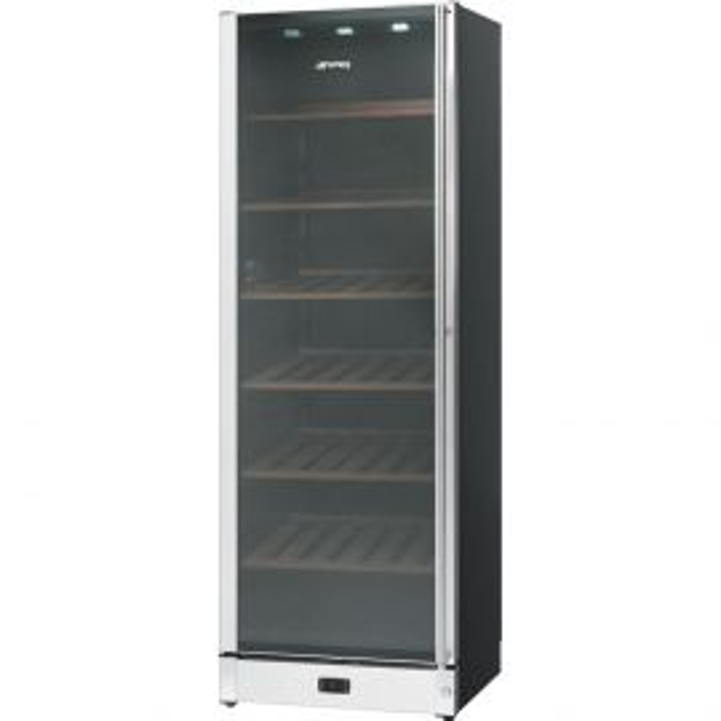 Smeg SCV115AS - Fritstående vinkøleskab