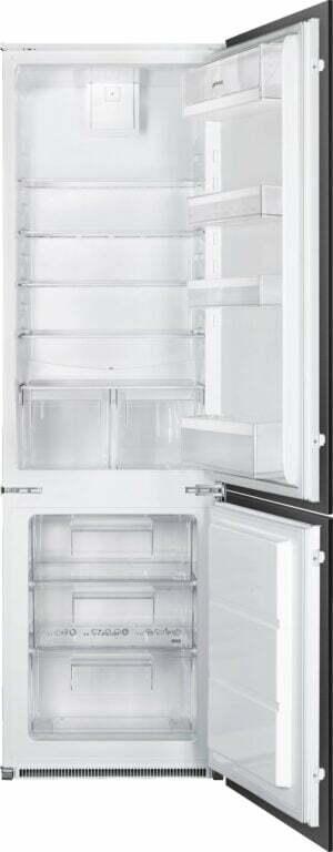 Smeg kølefryseskab C41721F Integreret (hvid)