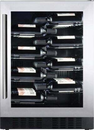Temptech Copenhagen vinkøleskab CPROX60SX (rustfri stål)