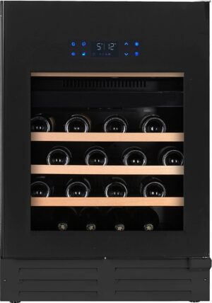 Temptech Elegance vinkøleskab EX60DRB (sort)