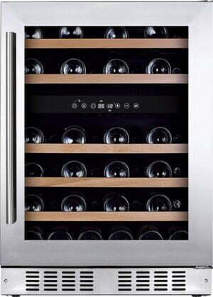 Temptech Oslo vinkøleskab OX60DX (rustfri stål)