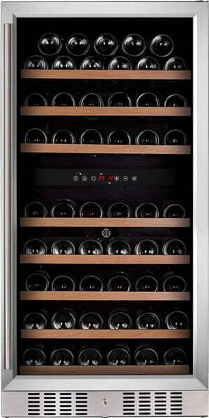 Temptech Premium vinkøleskab WP120DCS (rustfri stål)