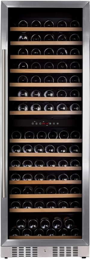Temptech Premium vinkøleskab WP180DCS (rustfri stål)