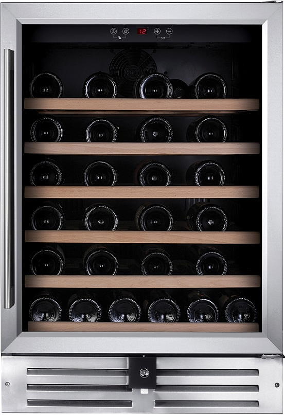Temptech Premium vinkøleskab WPQ60SCS (rustfrit stål)
