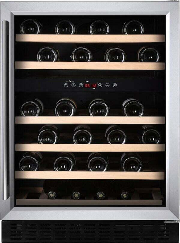 Temptech Premium vinkøleskab WPX60DCS (rustfrit stål)