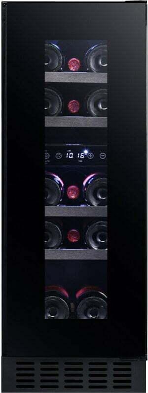 Temptech Sommelier vinkøleskab SOMX30DRB (sort)